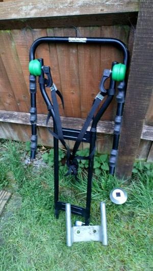 Bike rack for towbar