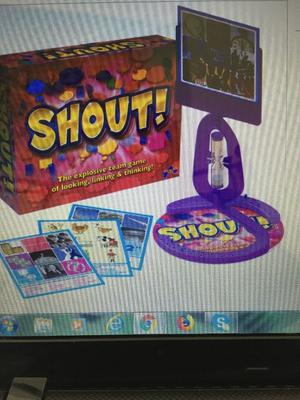 Brand new Shout Game Board Game, The explosive team game of looking, linking & thinking