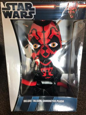 Brand new Star Wars talking plush