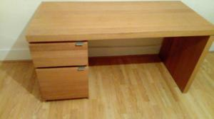 Ikea malm office desk with storage drawers in perfect condition