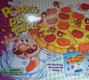 POPPAS PIZZA TOPPLE GAME