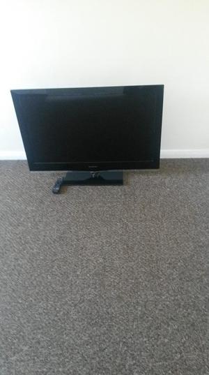 "SANDSTROM 40"" LCD SLIMLINE FLATSCREEN TV P BUILT IN FREEVIEW IN GOOD WORKING ORDER"