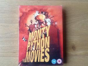 THE MONTY PYTHON MOVIES BOX SET BRAND NEW SEALED