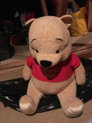 Winnie the Pooh large soft toy