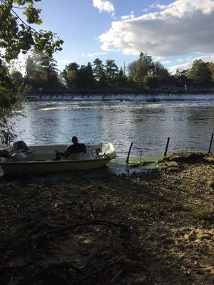 12foot dory day/fishing boat with 15hp outboard