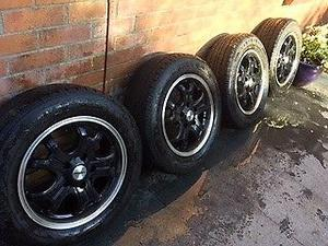 VW T5 T6 Transporter 16in Alloy Wheels and set of winter tyres Calibre Dominator  R16 C 107/T