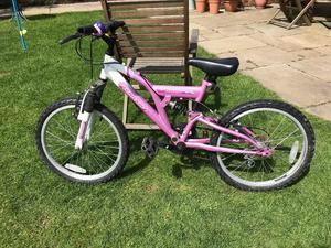 "20"" Kids' Dual Suspension Mountain Bike"