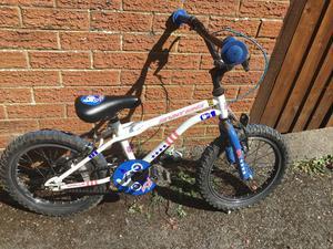 Boys 16 inch wheel bike