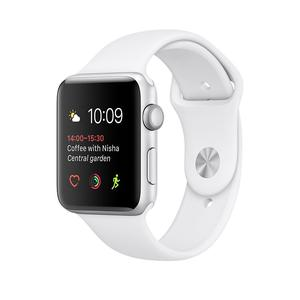 Brand New Apple Watch Series 1 38mm - Silver Aluminium Case with White Sport Band