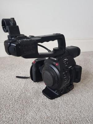 Canon C100 Mark II in perfect condition