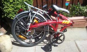 Folding bike brand new with bag