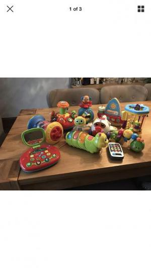 Lovely huge baby you bundle, consisting of Lamaze, VTech etc