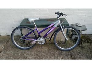 Raliegh Krush mountain bike 18 speed 24 inch wheel in good