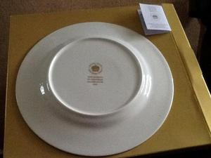 Royal Scot commemorative plate