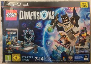 SONY PLAYSTATION PS3 LEGO WB GAMES DIMENSIONS STARTER PACK