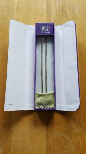 Silver Curb Chain 4mm 55cm