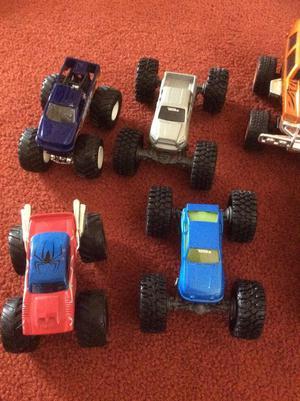 Toy Cars, monster trucks