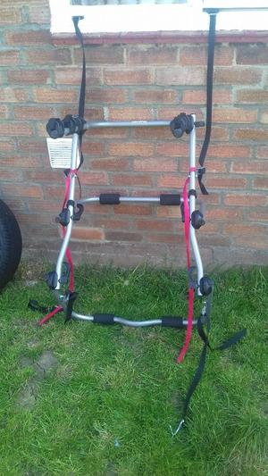Universal bike rack fits any hatch back car
