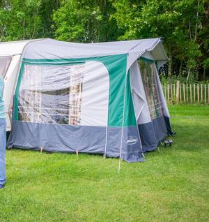 Caravan awning size suitable for most ft   Posot Class