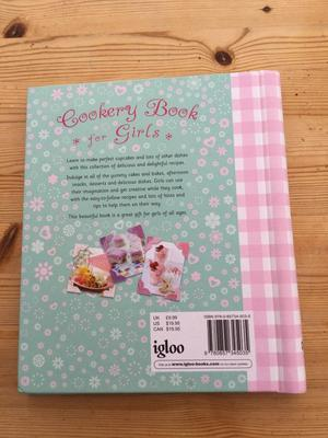Cookery Book for Girls, Brand new. Hardback. Lovely recipes & illustrations. Can post or collect fro