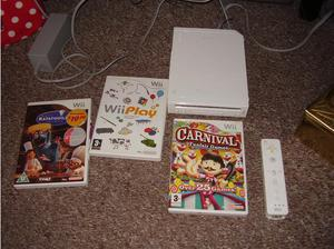 NINTENDO WII WITH GAMES MINT CONDITION in Doncaster