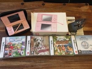 Pink Nintendo DS Lite Bundle