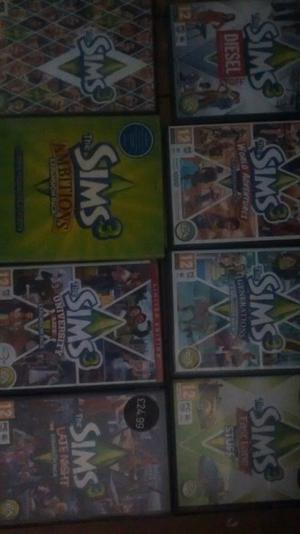 Sims 3 Bundle £25