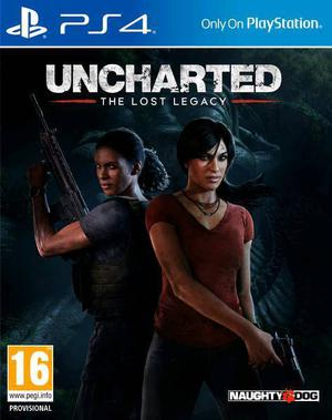 Uncharted Lost Legacy Sony PS4 (PlayStation 4) game in mint condition
