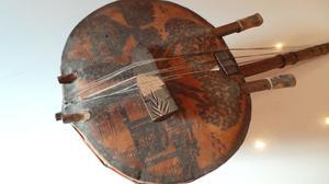 Vtg Retro African Kamele Ngoni or Kora - Musical Instrument