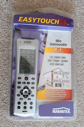 Easytouch universal remote control.