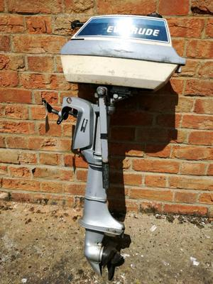 Evinrude 18hp outboard for spares or repair posot class for Yamaha outboard mechanic near me