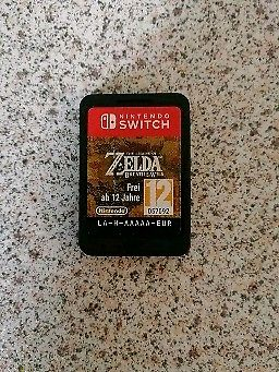 Legend of Zelda: Breath of the Wild (Nintendo Switch Game)