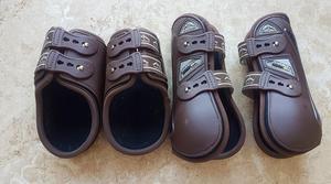Veredus Nero Line Olympus carbon gel tendon + fetlock boots