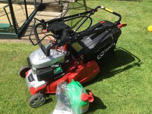 new cobra petrol lawn mower