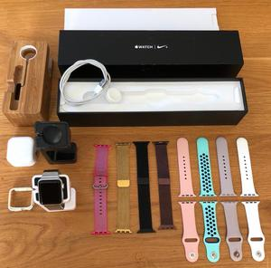 Apple Watch Series 2 38mm with a Genuine Link Bracelet & Nightstand
