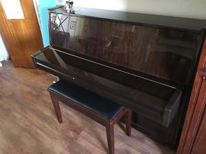 Geyer Upright Piano & Piano stool - Very good condition, £200