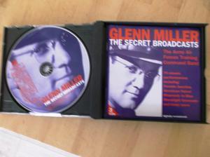Glenn Miller, The Secret Broadcasts 3 CD set.