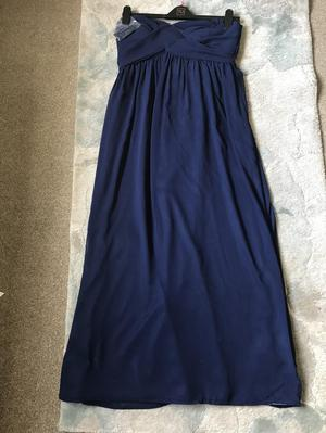 Navy bridesmaid dress for sale size 14