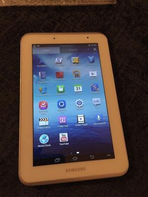 SAMSUNG GALAXY TAB 2 WHITE AND MINT 7INCH
