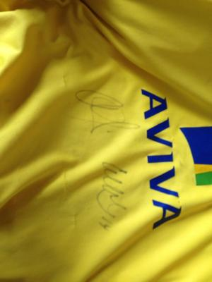 Signed Norwich City shirt open for offers