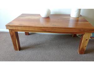 Solid Acacia Wood Coffee Table in Benfleet