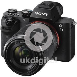 Sony Alpha A7 Mark II Digital Camera + mm Lens Kit,