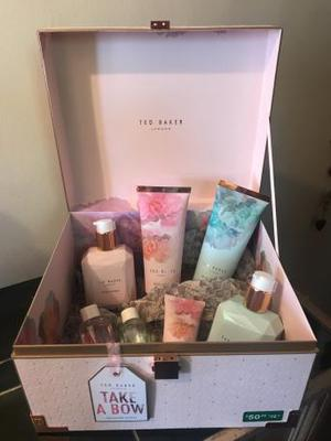Take a bow Ted baker treasure chest brand new set
