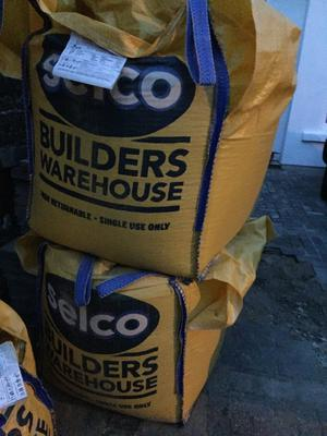 Two large bags of gravel