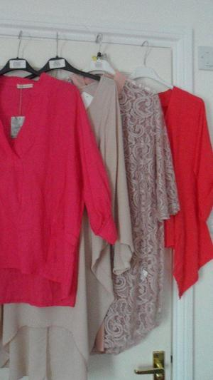 job lot brand new with tags ladies tops - various