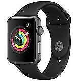 Brand new, boxed and sealed: Apple Watch Series 3 42mm Space Grey Aluminium