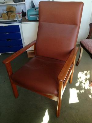 Hospital style arm chair