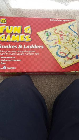Morrison's Snakes and ladders