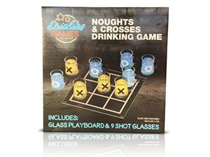 Noughts and crosses shot game in Cleckheaton