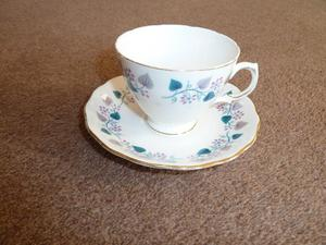 Vintage () Bone China Tea Set by Royal Vale. Very good condition with original box.
